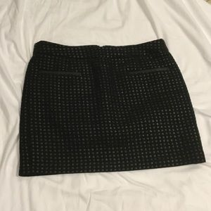 Gap mini skirt.