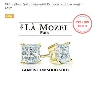 95 Off La Mozel Jewelry Solid 14k Gold Earrings 💕💕 Last