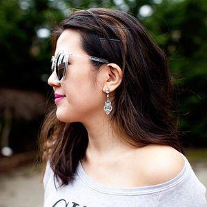 T&J Designs Jewelry - Deco Drop Earrings