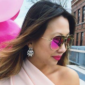 T&J Designs Jewelry - Crystal Cluster Earrings