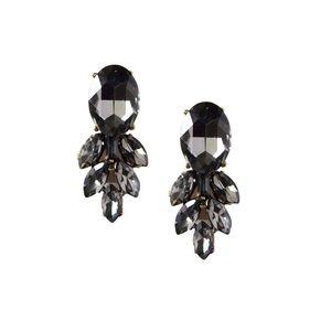 T&J Designs Jewelry - Oval Feather Drop Earrings