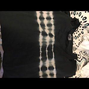 ASOS Tie Dye Ripped Tee Shirt