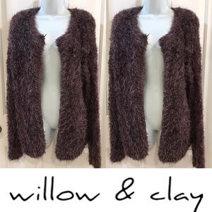 | Willow & Clay | Incredibly Soft Fur Cardigan