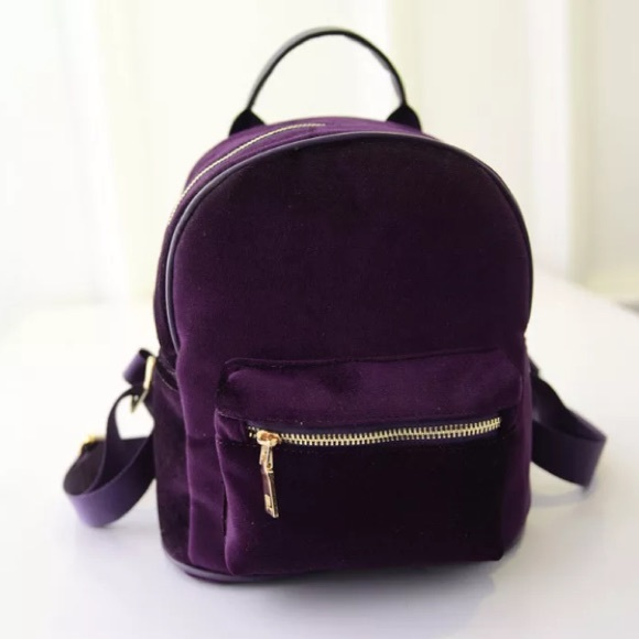 46% off Nasty Gal Handbags - 🎉HOST PIC🎉 PURPLE MINI VELVET ...