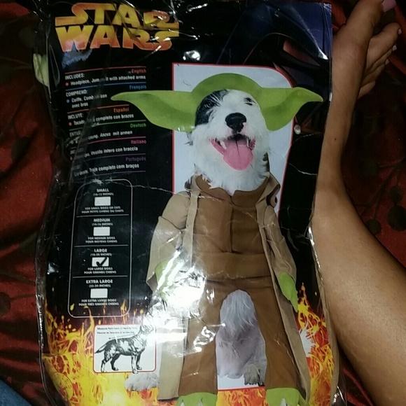 yoda star wars dog halloween costume