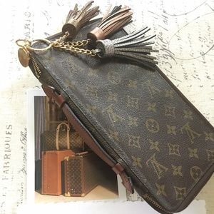 AUTHENTIC LOUIS VUITTON TRAVEL ORGANIZER WALLET