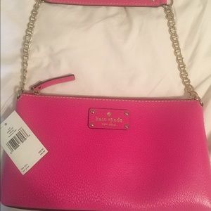 Kate spade with tag Wellesley Byrd purse in pink