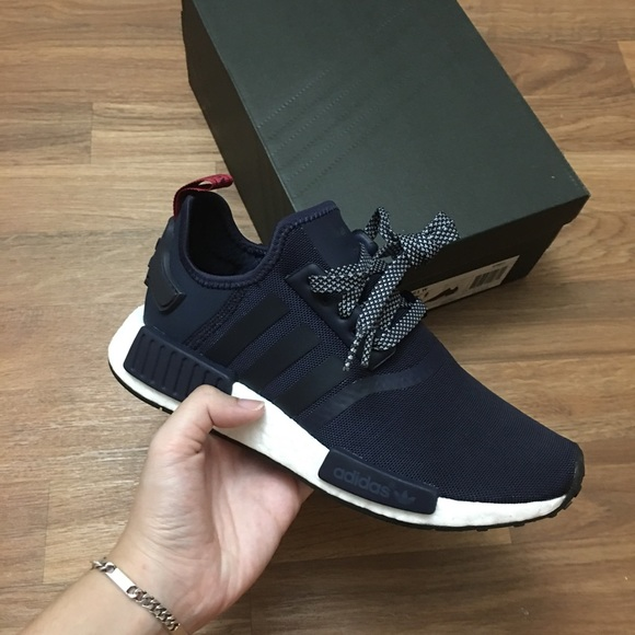 navy adidas shoes