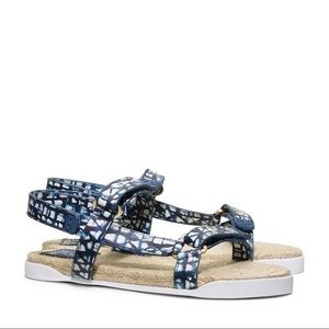 Tory Burch Strappy Espadrille Sandals