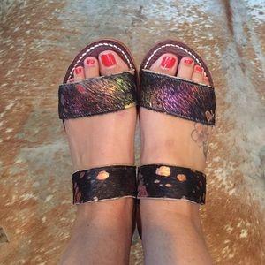 Shoes - Ilano pony hair sandals