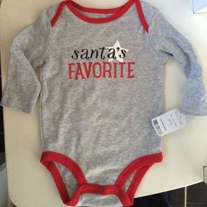 Carter's Other - Santa's Favorite Onesie