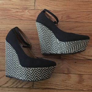 Shoes - Jeffrey Campbell 'Pizan Fab' Wedges