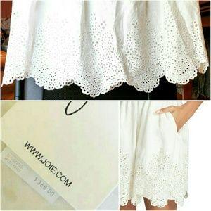 535691d787 Joie Dresses - 💲89✂NWT Joie White Dress Bridal Rehearsal Label 4