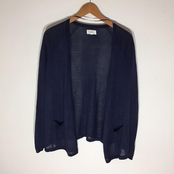 Lou & Grey - Lou & Grey Navy Blue Cardigan from Cara's closet on ...