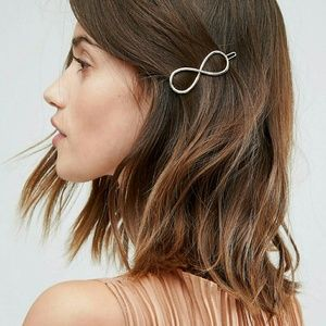 ASOS Infinity Gold Hair Clip