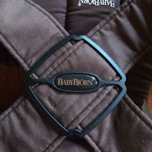 Baby Bjorn carrier 8-25 lbs. brown