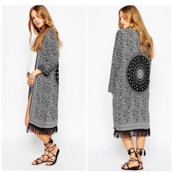 buscar genuino calzado calidad primero MANGO kimono - NWOT