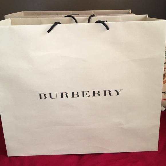 Burberry Handbags - Authentic Burberry large paper bag