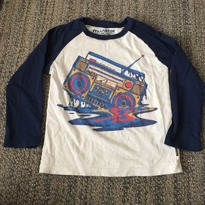 Munster Other - Boom Box baseball tee