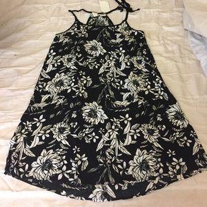 Dresses & Skirts - Black and White Sexy Mini Dress