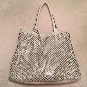 Style & Co. White Tote