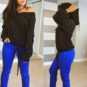 Sweaters - •LAST ONE• Black Ex-Boyfriend hoodie