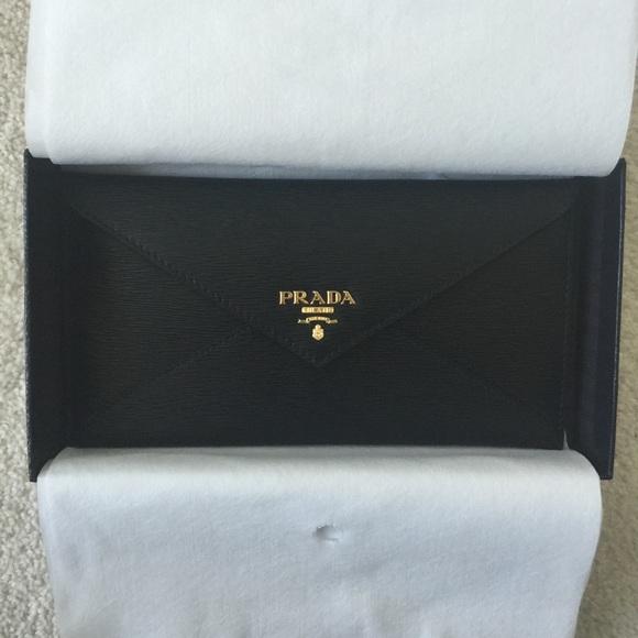 Prada Envelope Wallet Size