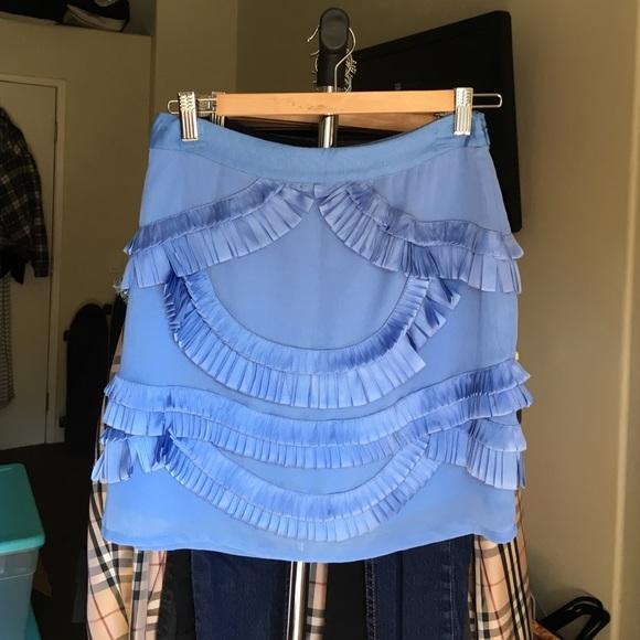 Reiss Skirts Kat Origami Skirt Poshmark