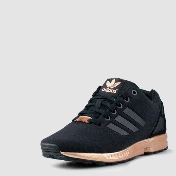 Adidas Zx Flux Womens - Rose Gold