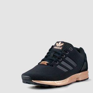 adidas zx flux rose gold womens