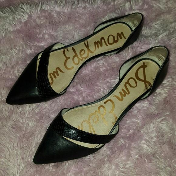 Sam Edelman Shoes   Dressy Black Flats