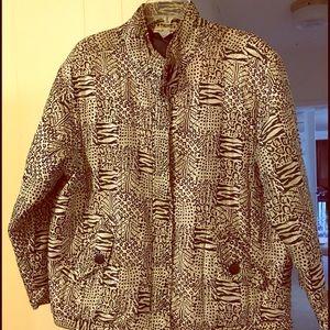 Anna and Frank Jackets & Blazers - Vintage Anna and Frank silk jacket