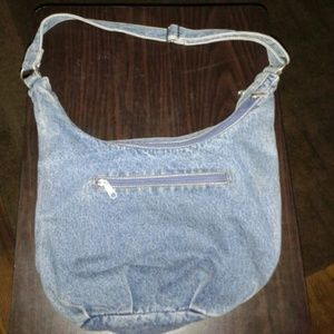 Handbags - BLUE JEAN PURSE