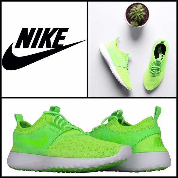 le scarpe nike juvenate donne elettrici poshmark verde