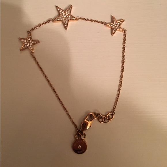 65 off Michael Kors Jewelry Rose Gold Star Bracelet Poshmark