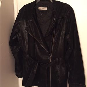 Big Chill Jackets & Blazers - Big Chill Faux Leather/Suede Jacket   L