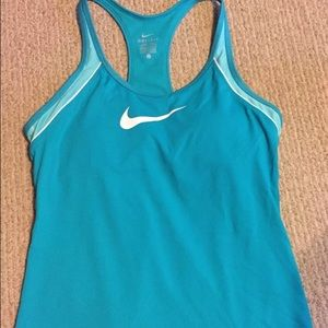 Nike Dri Fit size Large women's work out tank top