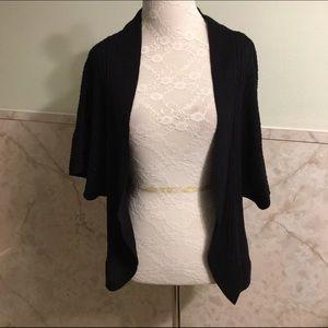Catherines Sweaters - Catherine's Dark Navy Cardigan 0x (14/16W)