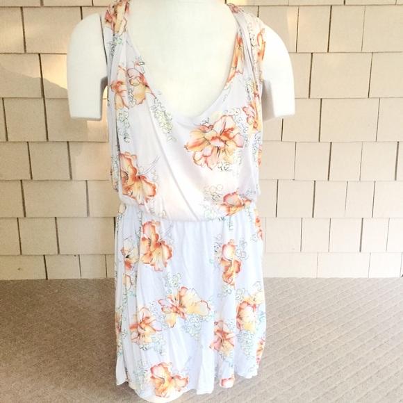 5942882cf447 Free People Dresses   Skirts - ✨SALE FREE PEOPLE Mini Dress with Orange  Flowers