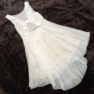 Zinga Dresses & Skirts - Zinga sheer high low dress