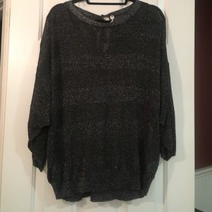 Margaret O'Leary Sweaters - New Margaret O'Leary silver/black sweater