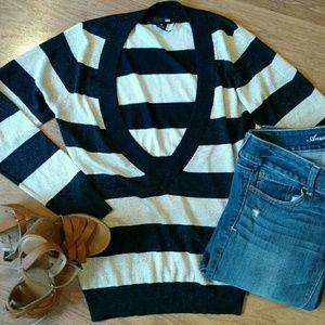 NWOT H&M Sparkly V-Neck Sweater