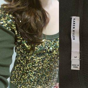 Karen Millen Sweaters - Karen Millen Sequence Sweater Top - Size 3