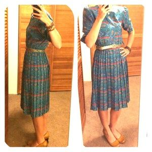 Vintage Dress- Union made in the USA