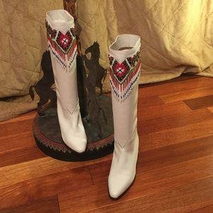 J Renee Shoes - J Renee leather & bead boots