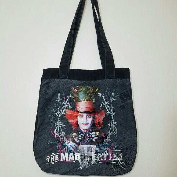 cd7c7b1240a Disney Handbags - Disney s Alice in Wonderland Mad Hatter bag