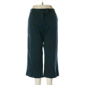 J. Crew Pants - Navy blue J Crew khaki capri pants