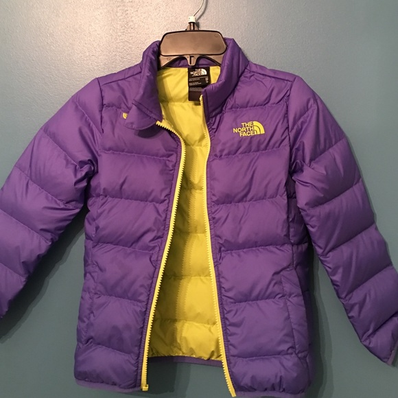 e9ca4594a North Face girls XS 6 Andes 550 down jacket