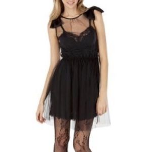 Rodarte For Target Lace Tulle Slip Dress