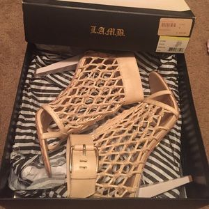 LAMB Fishnet sandal